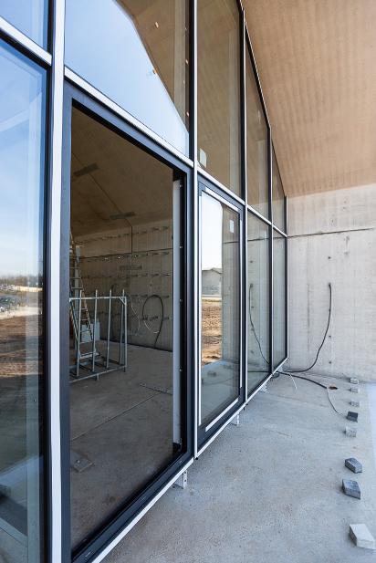 nowoczesny dom modułowy z prefabrykatów betonowych
