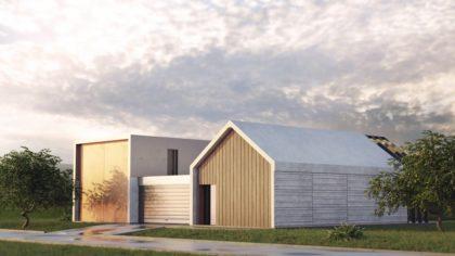 dom modułowy z prefabrykatów betonowych sunrise